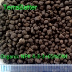 Organic Fertilizer 4-3-3+65om